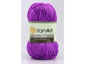 příze Macrame M135 fialová lila