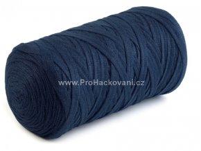 Ribbon Yarn Art tmavě modré