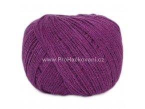příze Jeans 8065 maceškově fialová
