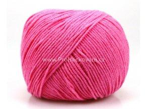 příze Jeans 8033 korálově růžová