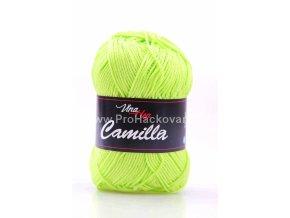 příze Camilla 8145 žlutozelená