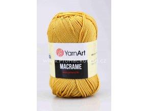 příze Macrame M155 zlatě béžová