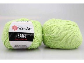 příze YarnArt Jeans 11 světle zelená
