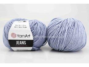 příze YarnArt Jeans 15 nebesky modrá