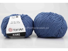 příze YarnArt Jeans 16 modrá