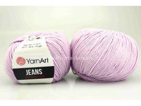 příze YarnArt Jeans 19 fialková lila