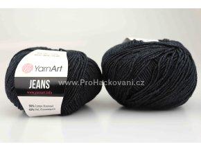 příze YarnArt Jeans 28 antracitová