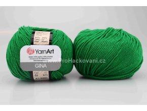 příze YarnArt Jeans 52 trávově zelená
