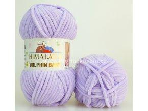 příze Dolphin Baby_80305 světle fialová