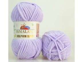 příze Dolphin Baby 80305 pastelově fialová