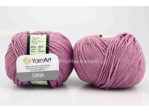 příze YarnArt Jeans 72 fialová levandule