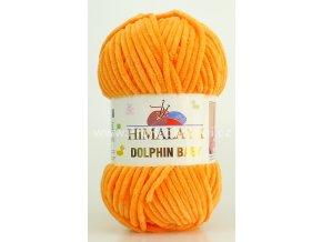 příze Dolphin Baby 80316 oranžová