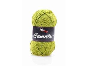 příze Camilla 8152 olivová