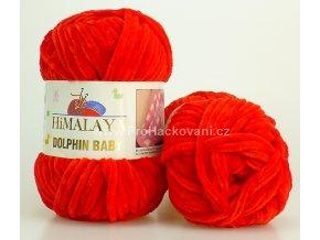 příze Dolphin Baby 80318 červená