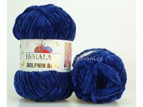 příze Dolphin Baby 80321 tmavě modrá