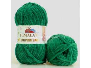 příze Dolphin Baby 80331 zelená