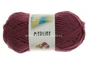 příze Merline 14802 růžovofialová