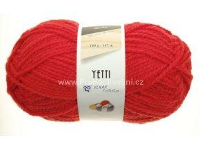 příze Yetti 52180 červená