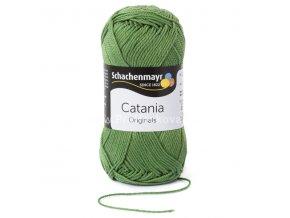 Příze Catania 212 mechová zelená