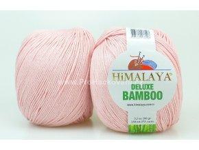 příze DeLuxe Bamboo 124-44 světle růžová