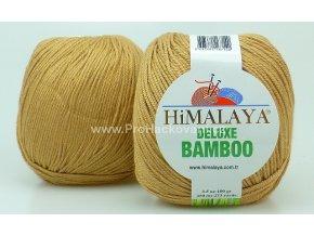 příze DeLuxe Bamboo 124-22 hnědobéžová
