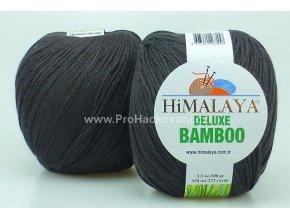 příze DeLuxe Bamboo 124-23 temně hnědá