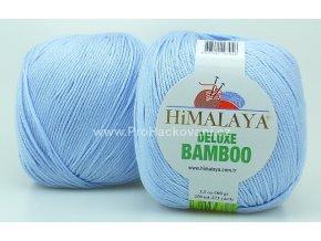 příze DeLuxe Bamboo 124-13 světlá nebesky modrá