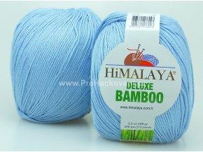 příze DeLuxe Bamboo 124-39 světle modrá