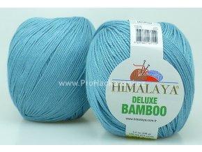 příze DeLuxe Bamboo 124-19 šedomodrá