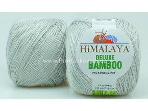 příze DeLuxe Bamboo 124-25 světle šedá