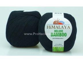 příze DeLuxe Bamboo 124-29 černá