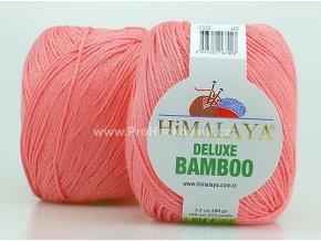 příze DeLuxe Bamboo 124-08 korálově růžová