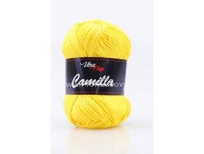 příze Camilla 8180 žlutá