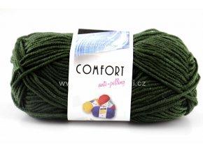 příze Comfort 55075 khaki