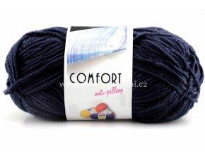 příze Comfort 56031 tmavě modrá
