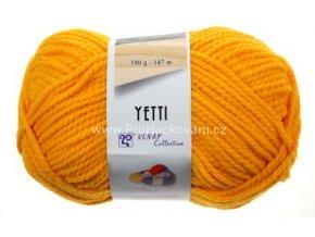 příze Yetti 54460 oranžově žlutá