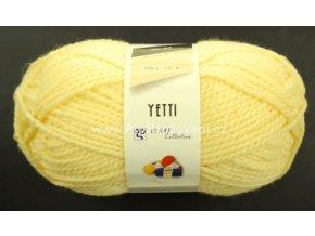 příze Yetti 54033 světle žlutá