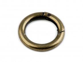 Karabina kroužek staromosaz Ø 38 mm