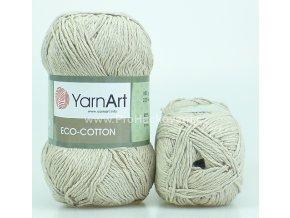 příze Eco Cotton 768 režná