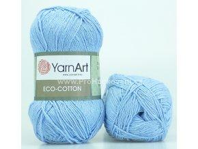 příze Eco Cotton 770 světle modrá