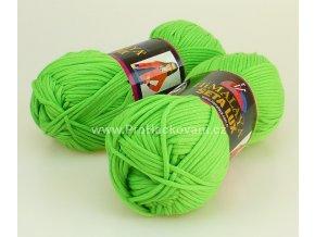 příze Seta Lux 20514 zelená