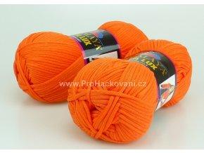 příze Seta Lux 20515 oranžová