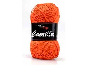 příze Camilla 8194 sytá oranžová