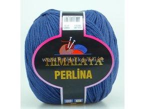 příze Perlina 50153 tmavě modrá