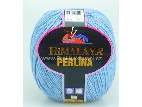 příze Perlina 50152 nebeská modrá