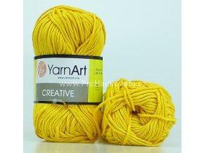 příze Creative 228 žlutá