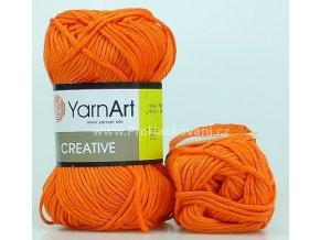 příze Creative 242 oranžová