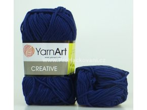 příze Creative 241 tmavě modrá