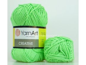 příze Creative 226 světle zelená