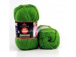 příze Everyday 70012 tmavší zelená